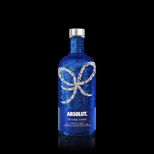 Absolut Uncover Sequin Version with Bow Black 750ml.jpg