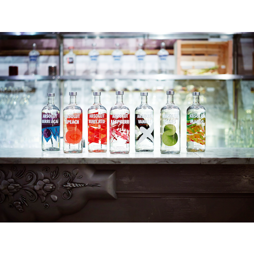 ABSOLUT Flavours redesign - ENVIRONMENT - range on bar.jpg