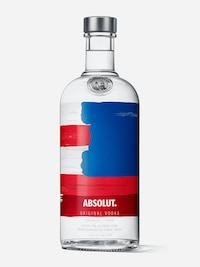 Bottle of Absolut America