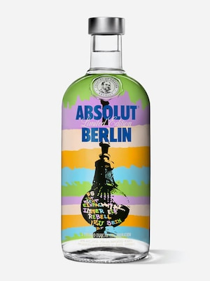 Bottle of Absolut Berlin
