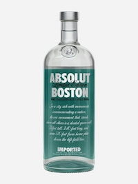 Bottle of Absolut Boston
