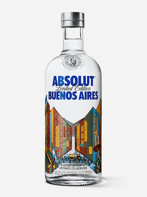 Bottle of Absolut Buenos Aires