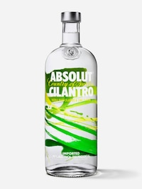 Bottle of Absolut Cilantro