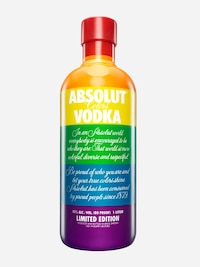 Bottle of Absolut Colors