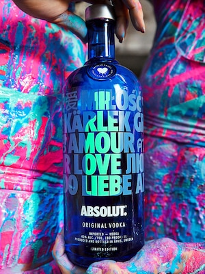 Bottle of Absolut Drop