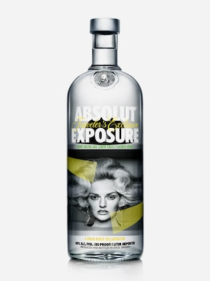 Bottle of Absolut Exposure