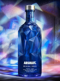 Bottle of Absolut Facet