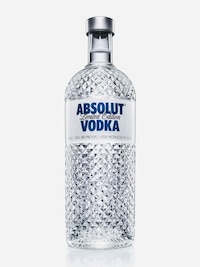 Bottle of Absolut Glimmer