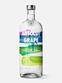 Bottle of Absolut Gräpe