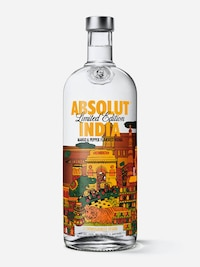 Bottle of Absolut India