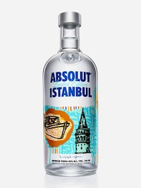 Bottle of Absolut Istanbul