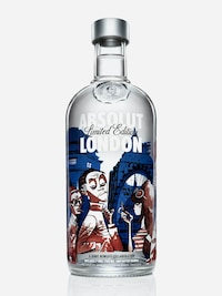 Bottle of Absolut London