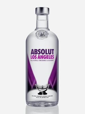 Bottle of Absolut Los Angeles