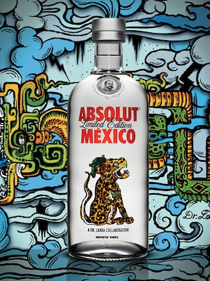 Bottle of Absolut Mexico