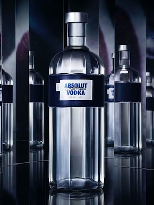 Bottle of Absolut Mode