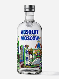 Bottle of Absolut Moscow