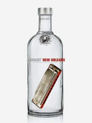 Bottle of Absolut New Orleans