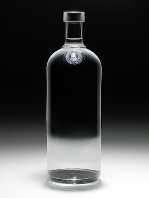 Bottle of Absolut No Label