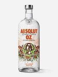 Bottle of Absolut Oz
