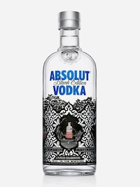 Bottle of Absolut Pilpeled