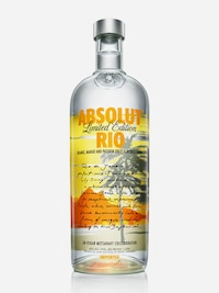 Bottle of Absolut Rio