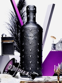 Bottle of Absolut Rock
