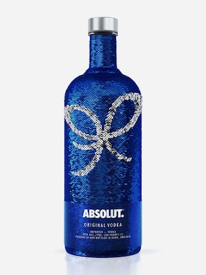 Bottle of Absolut Sequin