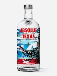 Bottle of Absolut Texas