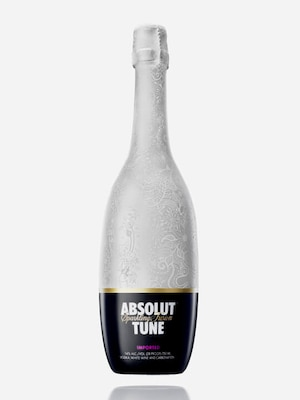 Bottle of Absolut Tune