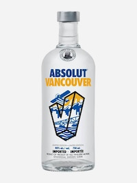 Bottle of Absolut Vancouver