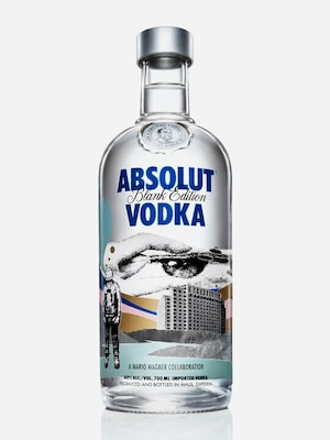 Bottle of Absolut Wagner
