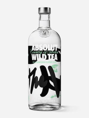 Bottle of Absolut Wild Tea