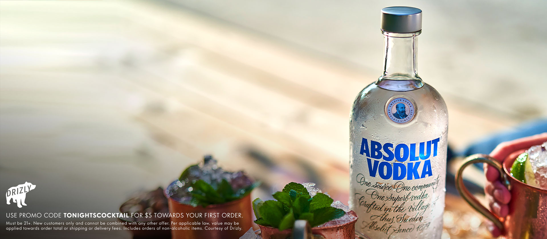 GET ABSOLUT DELIVERED