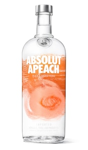 Absolut Apeach against white background