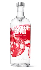 Absolut Äpple against white background