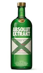 Absolut Extrakt against white background