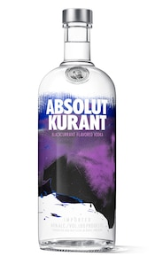 Absolut Kurant against white background