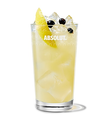 Absolut Kurant & Apple Juice