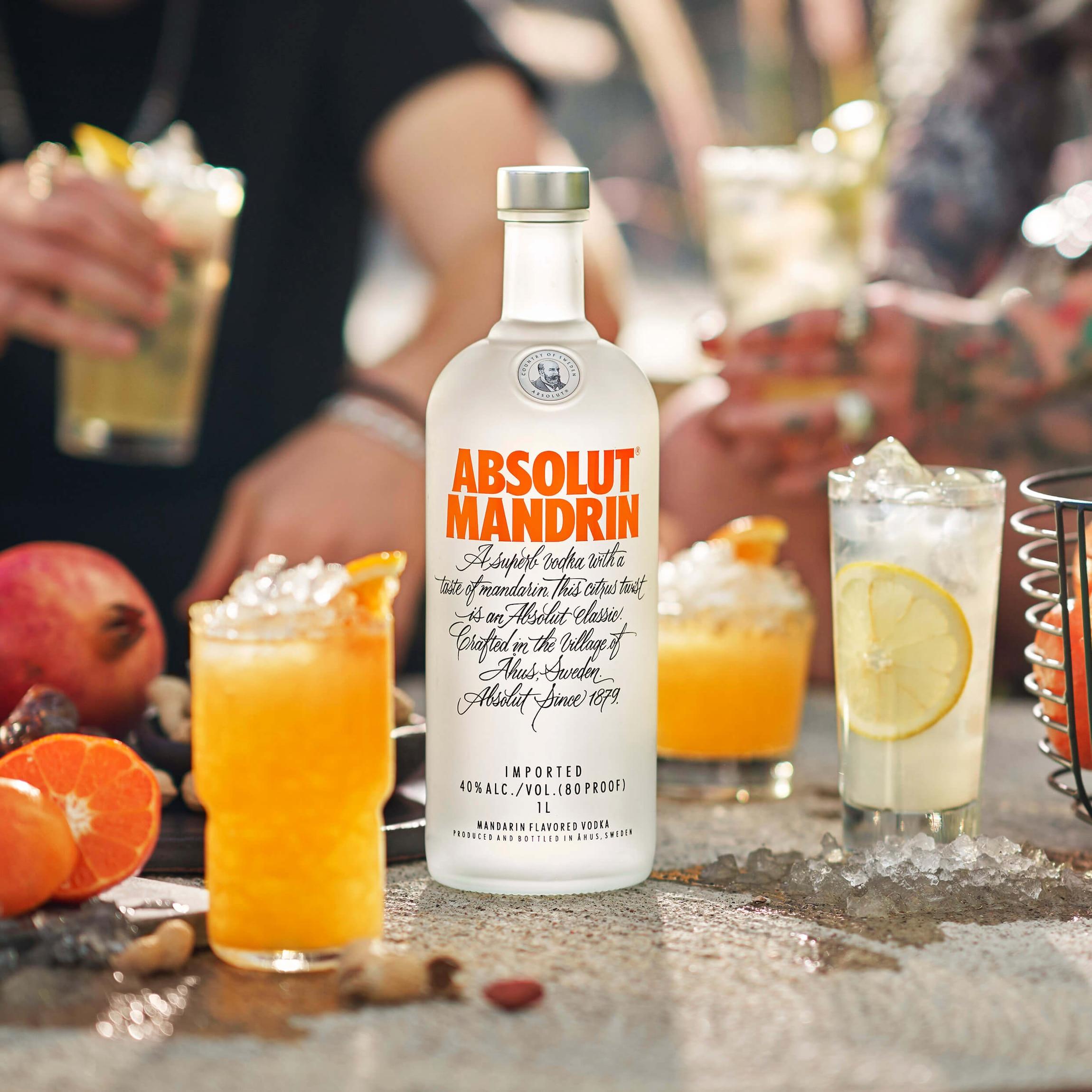 absolut vodka mix
