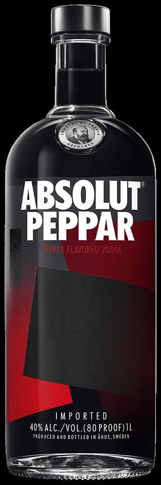 Pepper Flavored Vodka Absolut Peppar