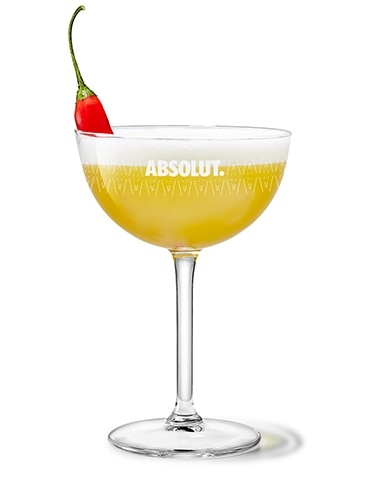 Spiced Pineapple Martini