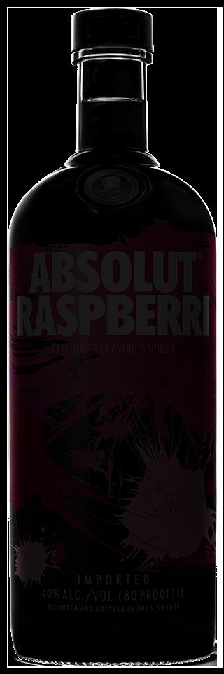 Raspberry Flavored Vodka Absolut Raspberri