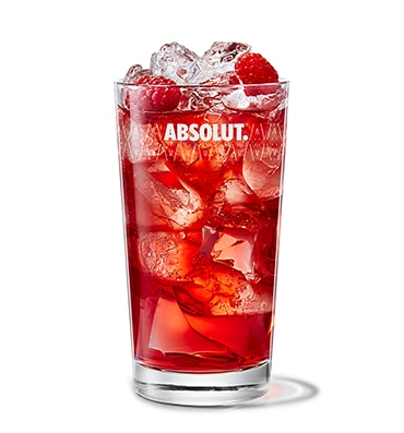 Absolut Raspberri & Cranberry Juice