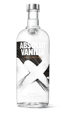 Vanilla Flavored Vodka - Absolut Vanilia