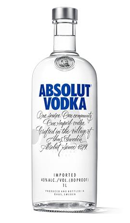 absolut vodka nackt