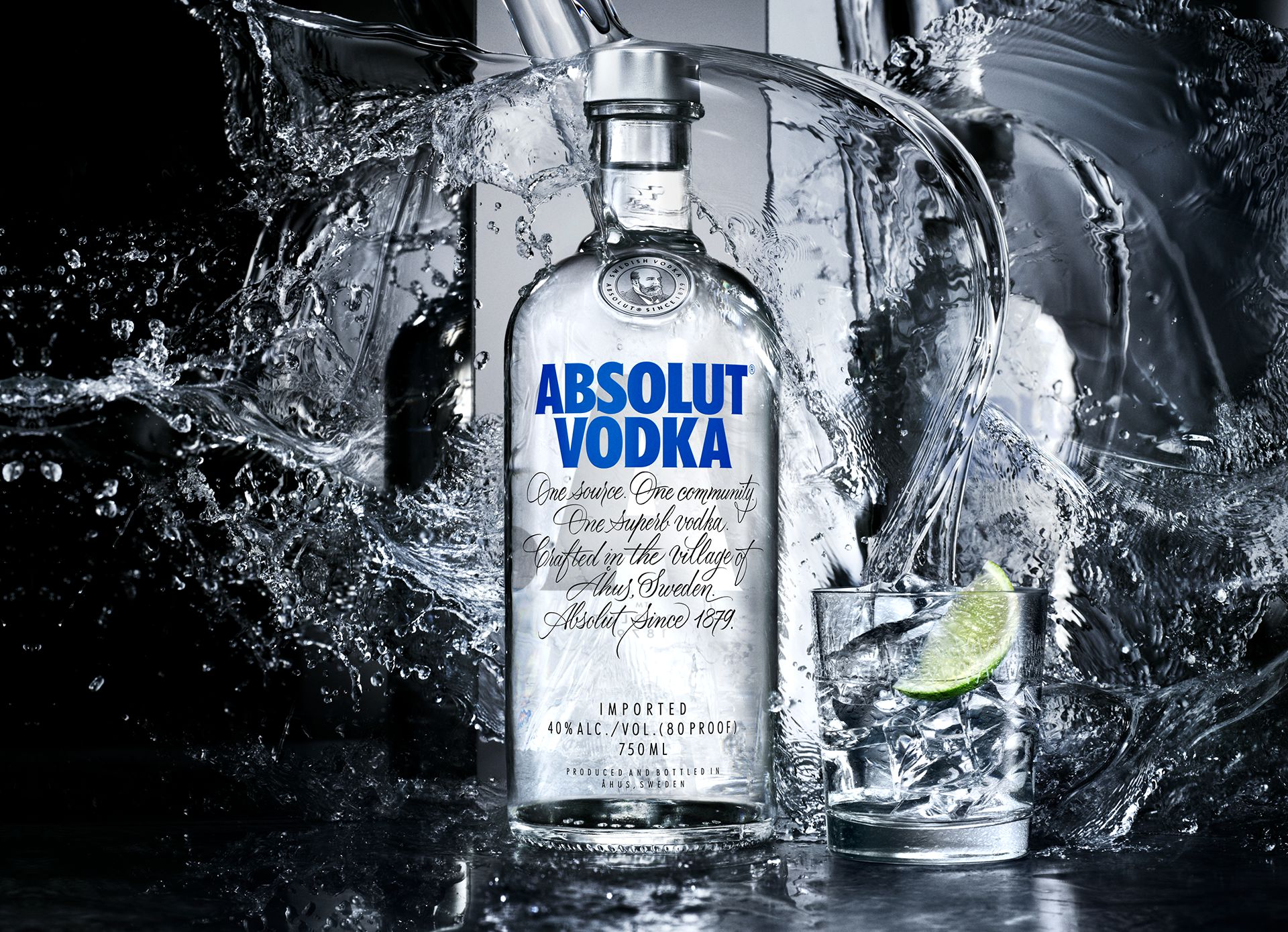 about Absolut vodka