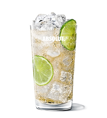 Absolut Wild Tea & Ginger Ale Absolut Wild Tea & Ginger Ale