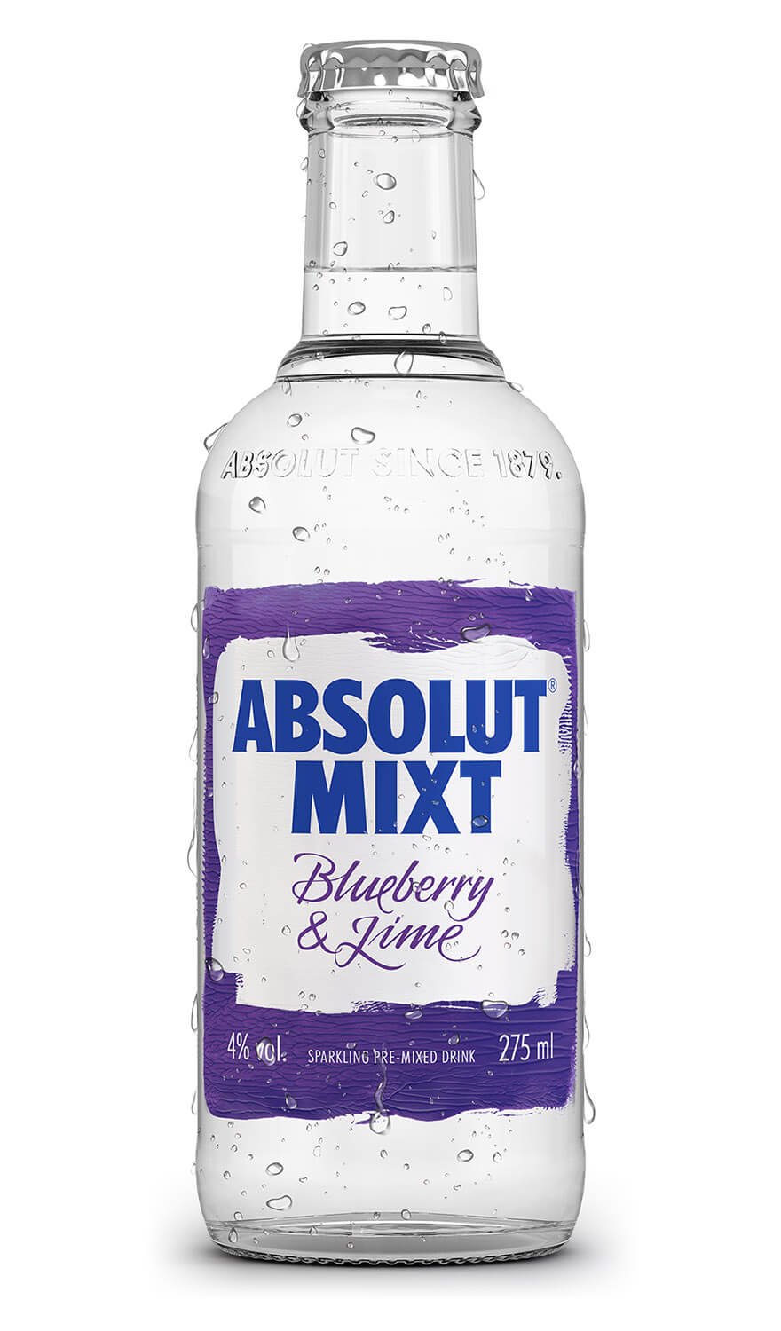 Absolut Mixt Blueberry & Lime