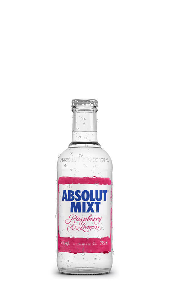 Absolut Mixt Raspberry & Lemon