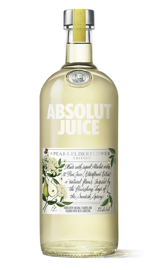 Absolut Juice Pear and Elderflower